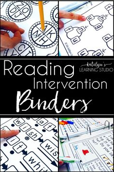 No prep reading intervention binder with activities and games for early or upper elementary students, esl or struggling readers. Classroom teachers or specialists can use during small group or guided reading for teaching kindergarten, first, second, or third graders fluency, decoding, long vowels, and simple sentences strategies and skills. Use as assessment, test tools, progress monitoring, documentation, teacher data organization, or k-2 goal setting. Ideas for homeschool, 1st, 2nd, 3rd…