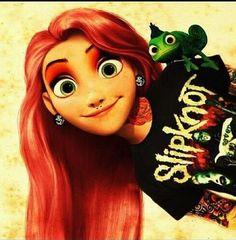 Fun take on Rapunzel!
