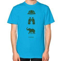 iconspeak Safari Story Unisex T-Shirt (on man)