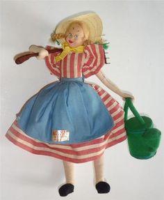 Vintage Klumpe Doll.