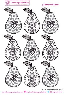 Get creative with your kids at home or school this summer, with these with fun free tropical fruit art printable coloring pages Colouring Pages, Free Coloring, Coloring Pages For Kids, Mini Bunting, Embroidery Patterns Free, Art Base, Fruit Art, Art Plastique, Art Activities