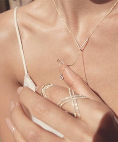 Rumi Neely designed a jewellery collection with MeiraT.