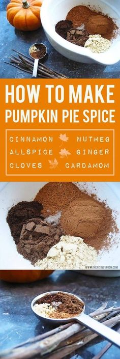 Pumpkin Pie Spice Recipe: Learn how to make your own pumpkin pie spice blend, which is a quintessential ingredient in many fall recipes like pumpkin pie and pumpkin spice lattes. Mixing it yourself saves you money and ensures your spices are fresh & potent for all your autumn dishes. |  gluten-free | paleo | vegan | whole30|