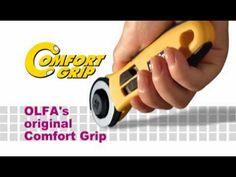 Cutter rotativo RTY Olfa - YouTube