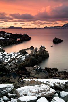 Hadseløya  |  Vesterålen  |  Norway | René Cortis Photography  Stunning late October light at sunset