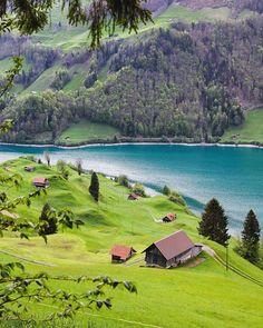 Green mode Obwalden - Switzerland  #Switzerland_Vacations Happy weekend dear friends