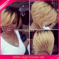 Wholesale Hot Ombre 8inch Bob Wig Brazilian Virgin Hair Lace Front Blonde Ombre Lace Wig Hum, Free shipping, $115.19/Piece | DHgate Mobile