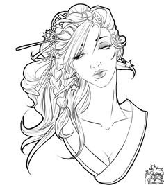 Star's Geisha by ravenmadison17.deviantart.com on @deviantART