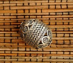 Turkish Sterling Silver Bead by SmallWorldofTreasure on Etsy,