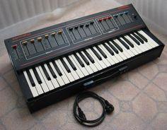 vintage Soviet analog synth synthesizer ESTRADIN SOLARIS piano electronic organ