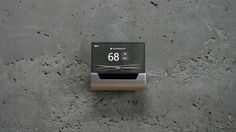 Cortana-powered GLAS Thermostat Is Ruling The Smart-living Market Home Automation System, Smart Home Automation, Wireless Security System, Home Security Systems, Microsoft Cortana, Smart Panel, Home Thermostat, New Gadgets, Technology