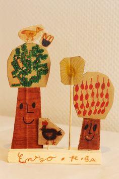 'Seasons' workshop by atelier pour enfants. St. Herblain library.