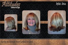 Beautiful Cut & Style with Dimensional Color...