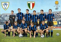 Formazione Inter 1964-1965 Image Foot, Liverpool Fc, Football Team, Milan, Album, Soccer, Retro, Grande, Aesthetics