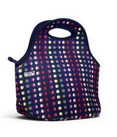 Take a look at this Dot No. 9 Gourmet Getaway Lunch Tote by BUILT on today! Picnic Bag, Lunch Tote, Lunch Bags, Office Fashion, Designer Collection, Tech Accessories, Polka Dots, Take That, Product Launch