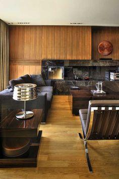 Loft by Exit Interior Design Studio. Masculine.