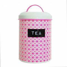 Boite à thé métallique