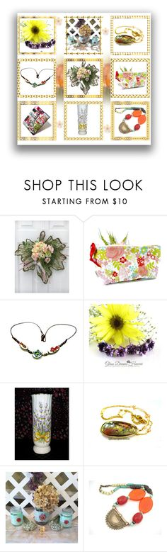 Spring by mytabletcaseplace on Polyvore featuring gift, jewelry, homedecor and forher