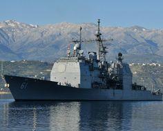 "USS Monterey CG-61 Souda Bay, Greece April 30, 2013 - 8"" x 10"" Lustre Finish Photograph"