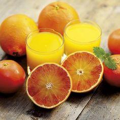 Succo d'arancia e banana