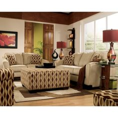 Ashley Living Room Furniture | ... Birch Living Room Set 36404 L