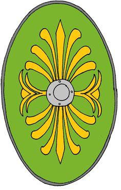 Roman Auxiliary Shield Cohort 1 Batavorum C.R.