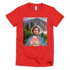 Sharma Jesus T-Shirt (Womens) Climbing, Unique, Mens Tops, T Shirt, Women, Fashion, Supreme T Shirt, Moda, Tee Shirt