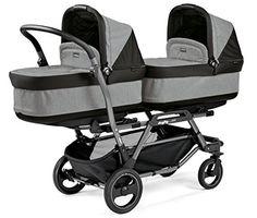 Peg Perego Duette Piroet-Estructura para carrito doble para gemelos, color gris #cochecitosbebe