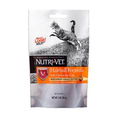 Nutri-Vet Hairball Formula Chicken and Tuna Flavor Soft Chews for Cats, 3-Ounce >>> To view further for this item, visit the image link. (This is an affiliate link and I receive a commission for the sales)