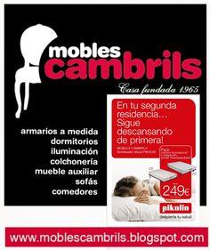 Colchones Pikolin en Cambrils..... MOBLES CAMBRILS