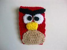 CROCHET - Angry birds phone cozy - Free pattern