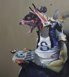 JORAM ROUKES http://www.widewalls.ch/artist/joram-roukes/ #contemporary #art