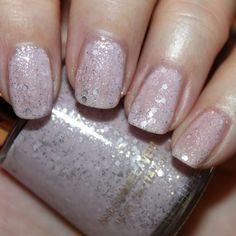 My current favorite polish, Revlon Starry PInk.
