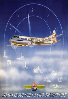 Awesome vintage airline posters and classic airline travel advertisements that will make you wish you could go back in time and visit the golden age of air travel. Travel Ads, Airline Travel, Travel And Tourism, Air Travel, Vintage Italian Posters, Vintage Travel Posters, Vintage Airline, Vintage Photos, Air France