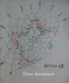 czyli ciut staroci :-) - Her Crochet Crochet Christmas Ornaments, Christmas Crochet Patterns, Holiday Crochet, Crochet Snowflakes, Crochet Ball, Crochet Doll Dress, Thread Crochet, Crochet Doily Diagram, Crochet Doily Patterns