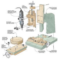 3 Fun And Easy DIY Woodworking Projects That You Can Complete This Weekend Woodworking School, Woodworking Hand Tools, Wood Tools, Woodworking Workshop, Woodworking Plans, Woodworking Projects, Wood Projects, Accessoires Dremel, Dremel Tool