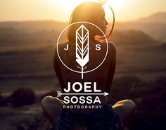 Personal identity for Joel Sossa, professional photographer from Guadalajara, México. Passionate by arrows, feathers and all about yaqui, cherokee, north american indians and their culture, the reason why the logo is.