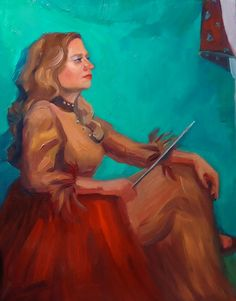 Study of a Woman by Melissa Devine - Oil on Panel x Moving To California, Southern California, Sheridan College, Animation Film, Art Gallery, Princess Zelda, Study, Oil, Woman