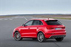 Audi RSQ3 facelift. Yes, my kind of horse.