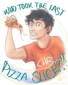Percy did it . . .