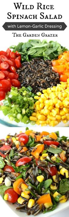 In LOVE with this salad! Earthy and delicious, with a rainbow of healthy veggies. And the dressing only takes 1 minute to make! Great for take-along lunches, BBQs, potlucks, etc. (vegan, gluten-free)