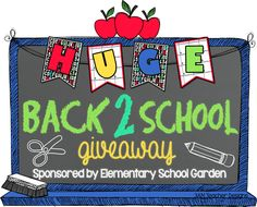 Back 2 School Giveaway (8/11 - 8/17) -plus- links to lots of great freebies perfect for kickstarting your school year!