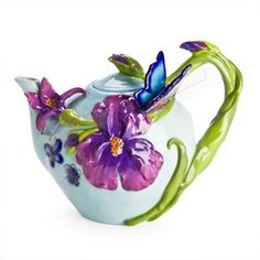 teapot-with-3d-butterfly-and-iris-flower
