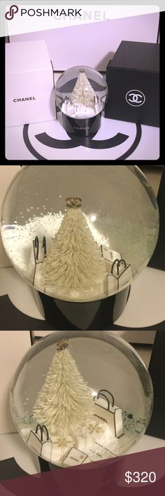 Spotted while shopping on Poshmark: ❄️NEW Chanel SNOW GLOBE❄️! #poshmark #fashion #shopping #style #CHANEL #Other