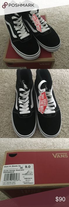 6e00037e4f2 Vans Ward Hi Top Men Skate Shoes Brand New w tags Brand New with tags and  box. No imperfections or marks. Suede Canvas These shoes are not for wide  feet.