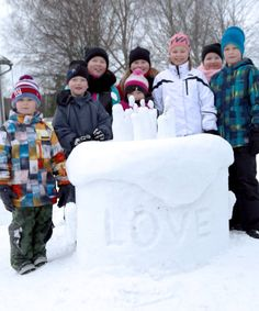 Lumenveistokisat 2015 -Ihastjärven koulu Land Art