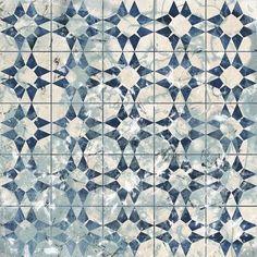 Framed Tile-Dye VIII Print Blue Art, Art Store, Pattern Art, Color Trends, New Art, Framed Art, Color Schemes, Fine Art Prints, Tile