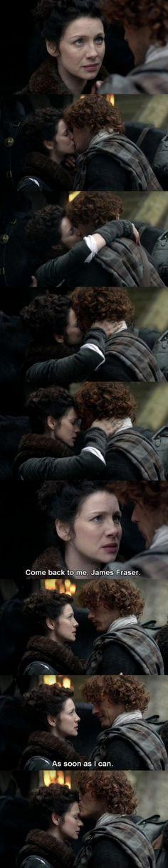 Outlander - S01E10 - Jamie & Claire ♥