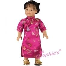"""Chinese costume that fits 18"""" american girl dolls. Use special discount code PIN10"""