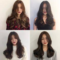 Korean Haircut Long, Korean Wavy Hair, Korean Hairstyle Long, Korean Perm, Korean Hairstyles Women, Korean Wave, Haircuts For Wavy Hair, Long Hair Cuts, Medium Hair Styles